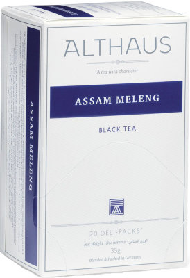 Чёрный чай Althaus Assam Meleng Deli Pack 20 пак